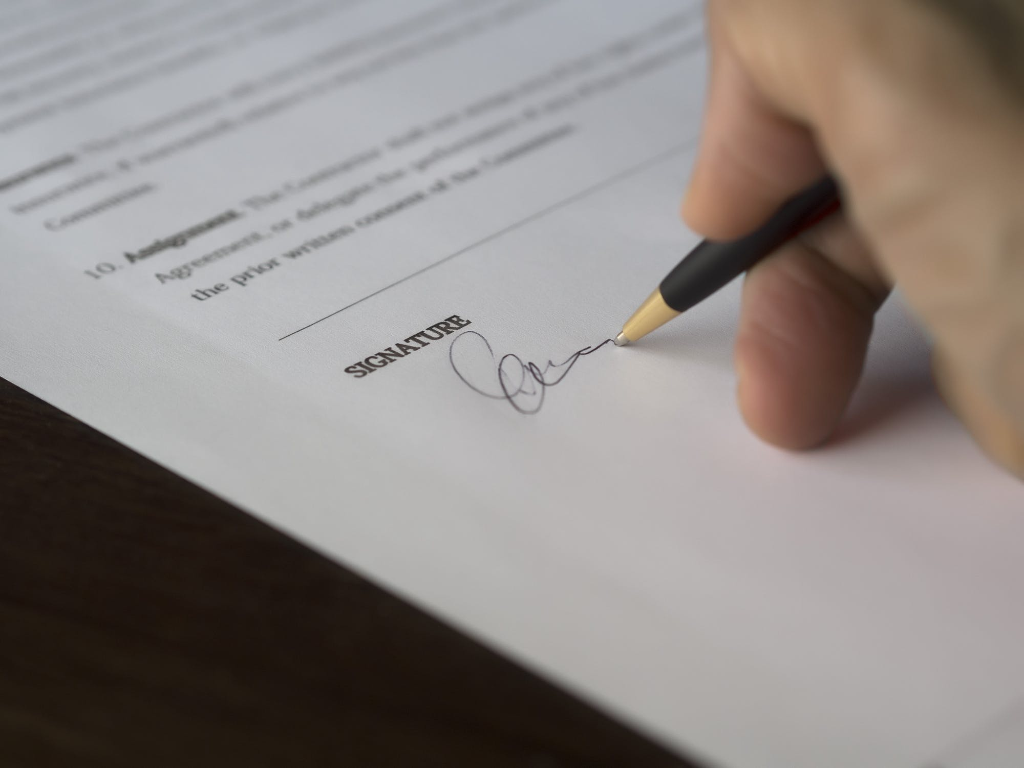 specimen signatures